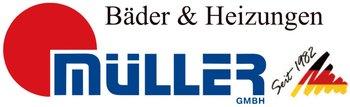 Müller GmbH – Bäder-Heizung-Solar Logo