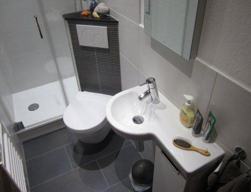 WC zum Duschbad in Frankfurt